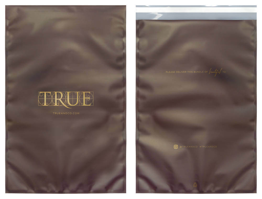 Laminated pouch mailer