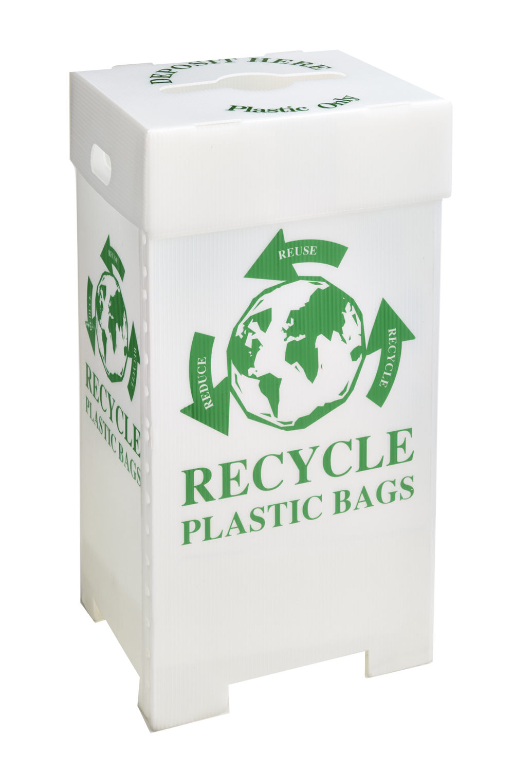 Grocery Plastic Bag Recycling Bin
