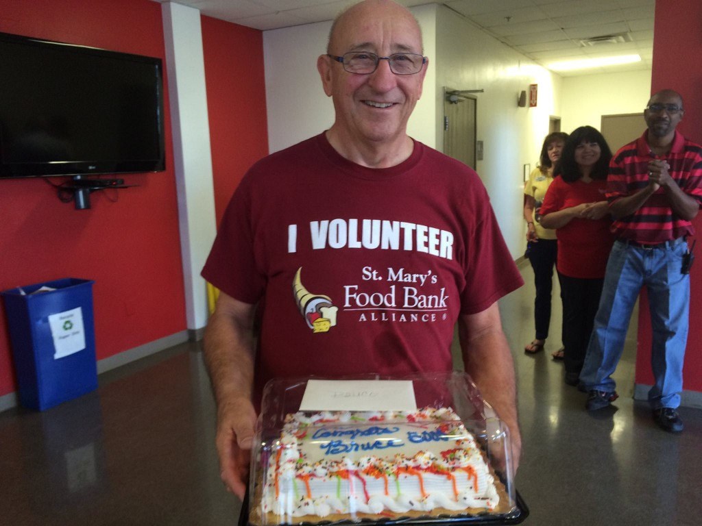 Robert Murdock volunteer