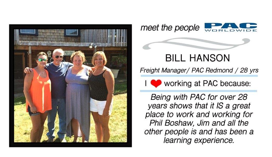 Bill Hanson of PAC