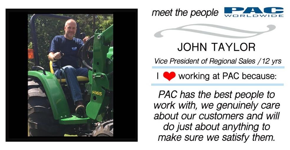 John Taylor of PAC