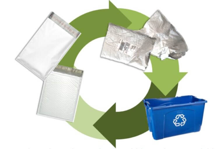 Where to Recycle Your Bubble Mailers