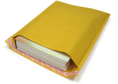 Kraft Airjacket with book inside