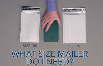 What size mailer do I need?