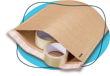 curbside recyclable padded mailer