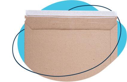 rigid paper mailer